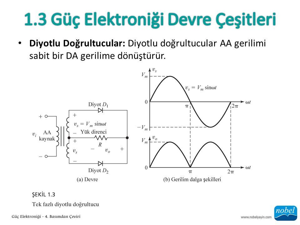 1.3 Güç Elektroniği Devre Çeşitleri