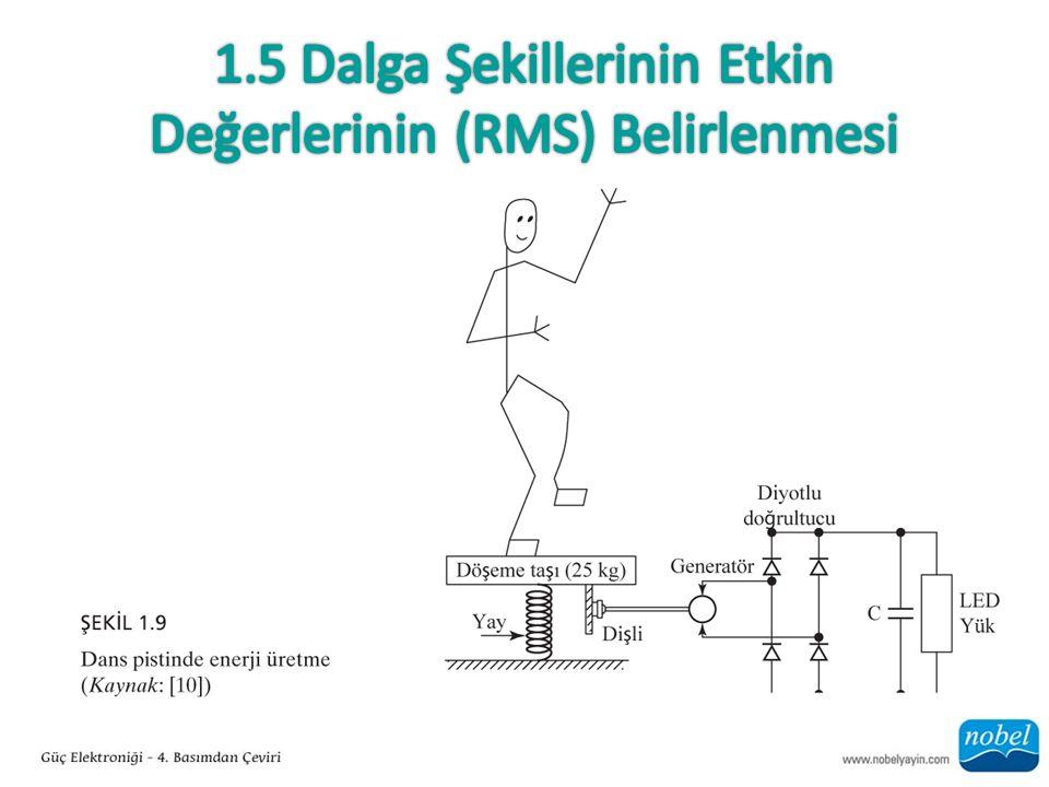 1.5 Dalga Şekillerinin Etkin Değerlerinin (RMS) Belirlenmesi