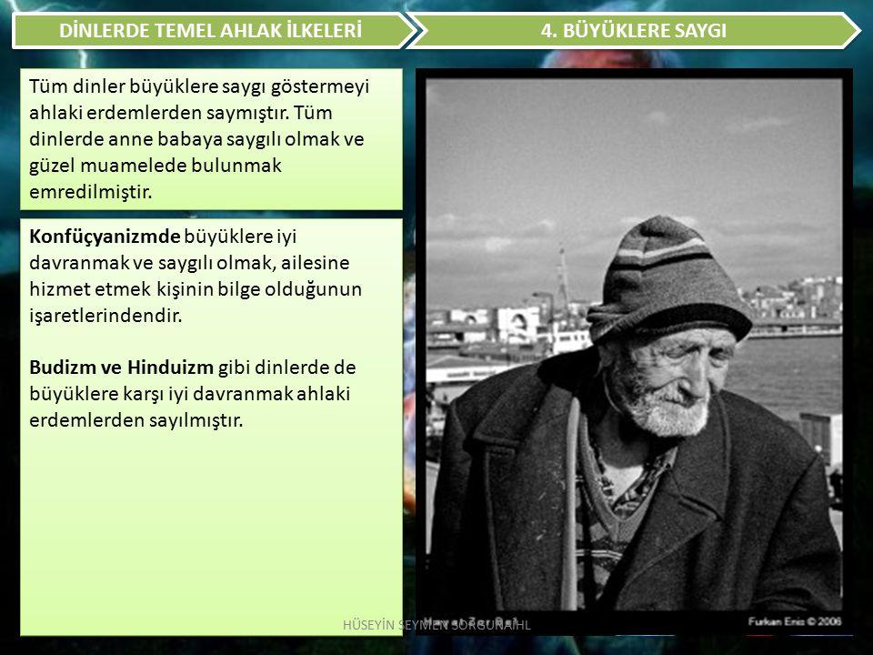 DİNLERDE TEMEL AHLAK İLKELERİ