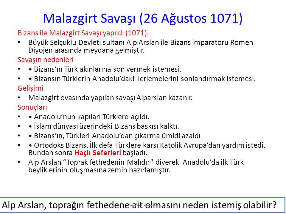 Malazgirt Savaşı (26 Ağustos 1071)