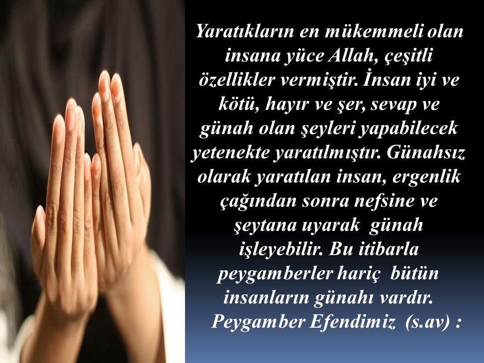 Peygamber Efendimiz (s.av) :