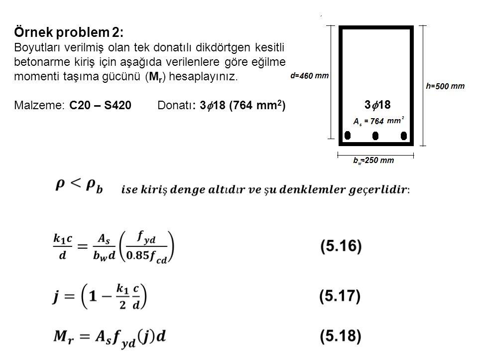 Örnek problem 2: