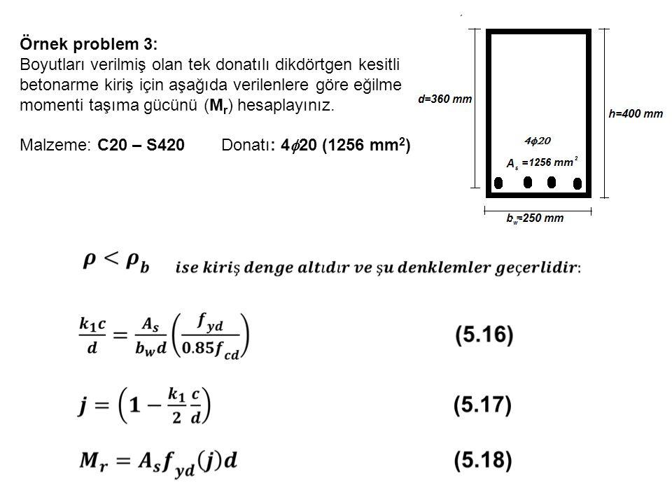 Örnek problem 3: