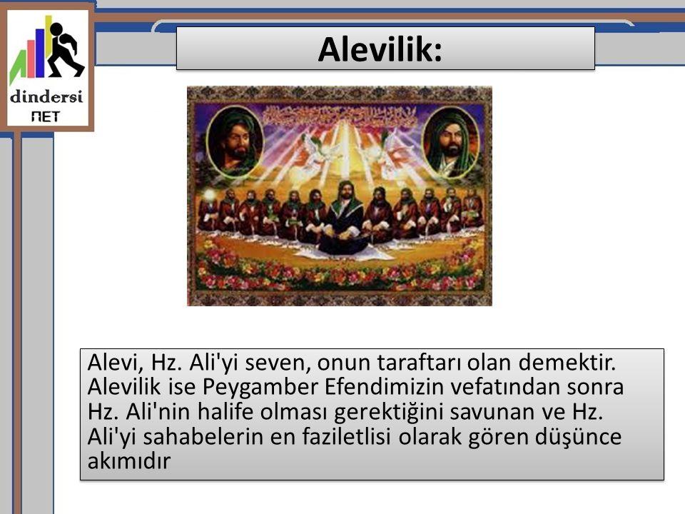 Alevilik: