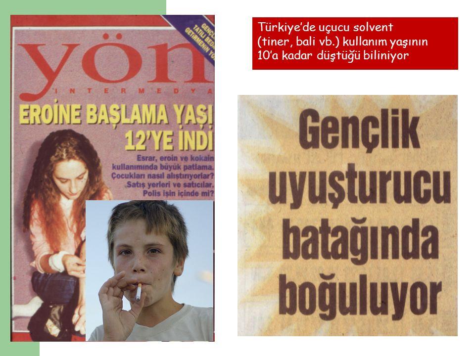 Türkiye'de uçucu solvent