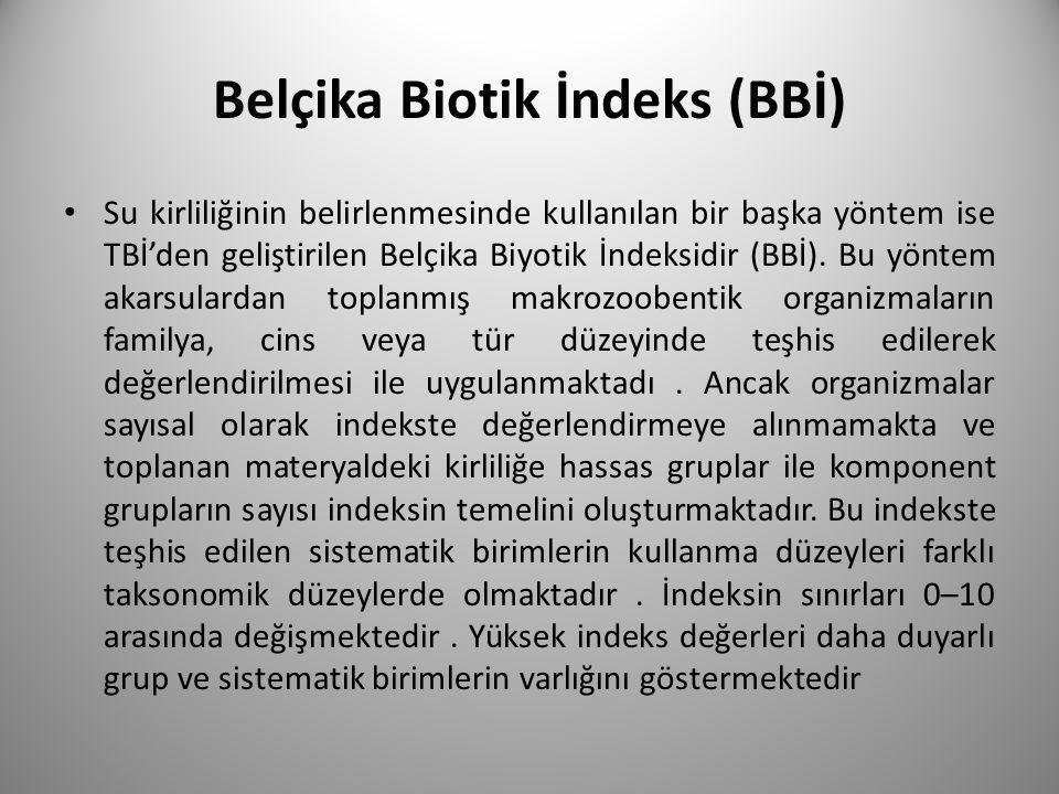 Belçika Biotik İndeks (BBİ)
