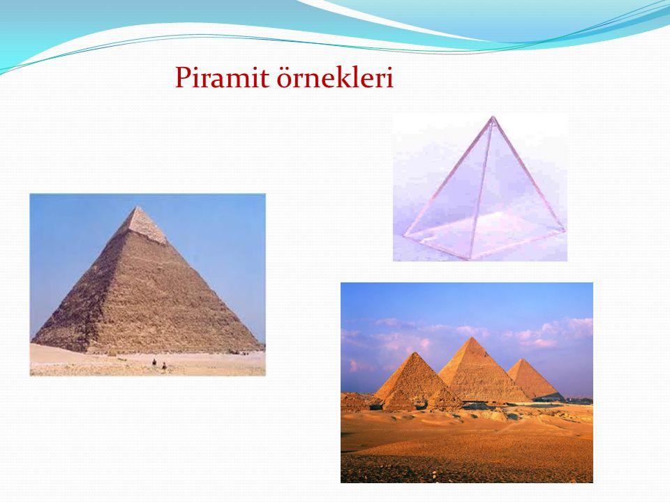 Piramit örnekleri
