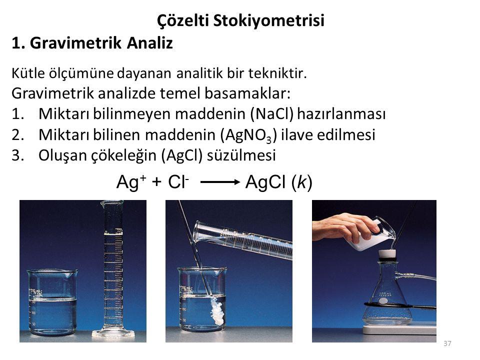 Çözelti Stokiyometrisi