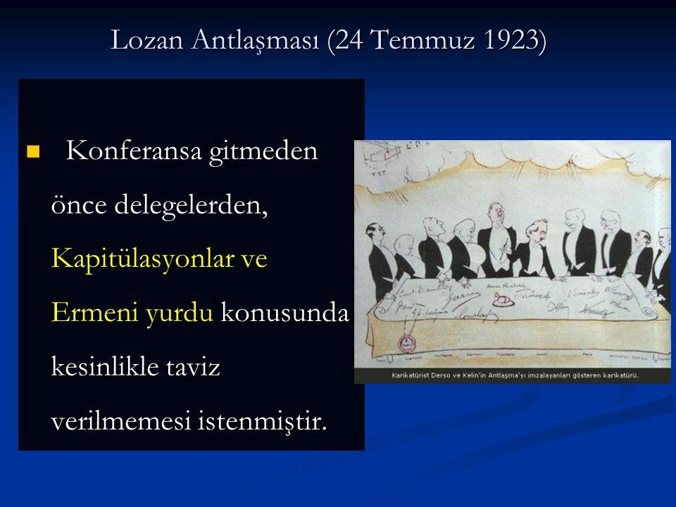 Lozan Antlaşması (24 Temmuz 1923)