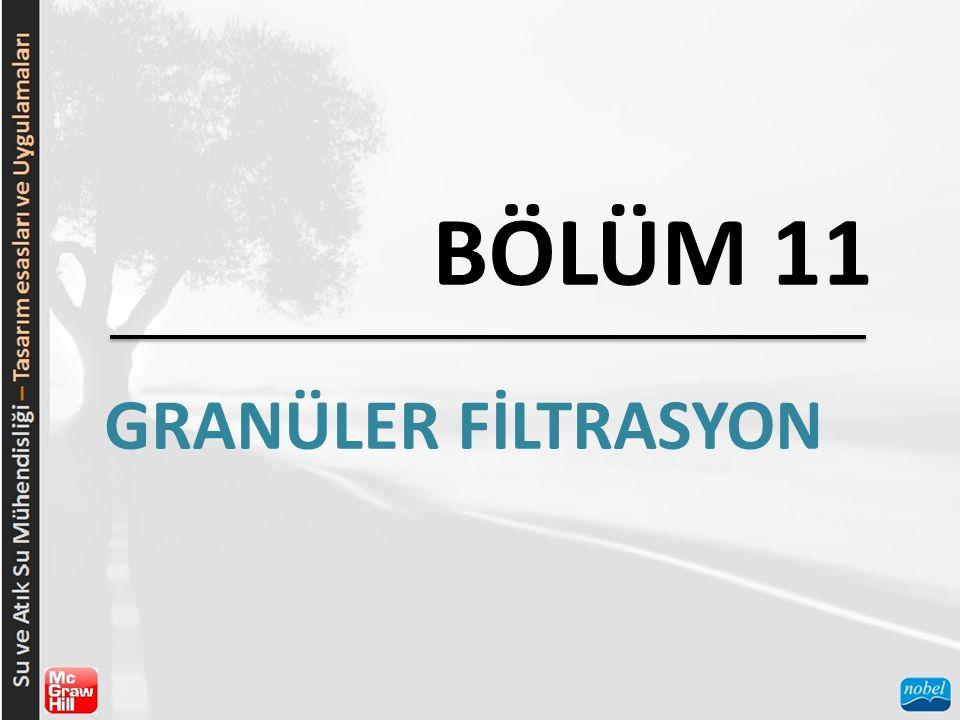 BÖLÜM 11 GRANÜLER FİLTRASYON