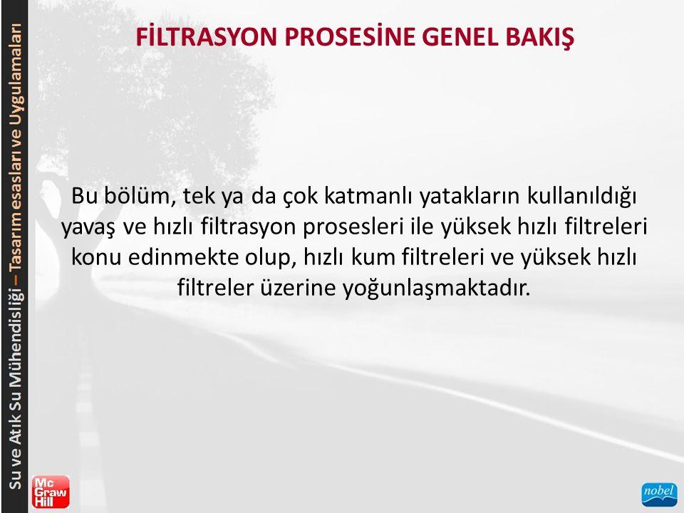FİLTRASYON PROSESİNE GENEL BAKIŞ