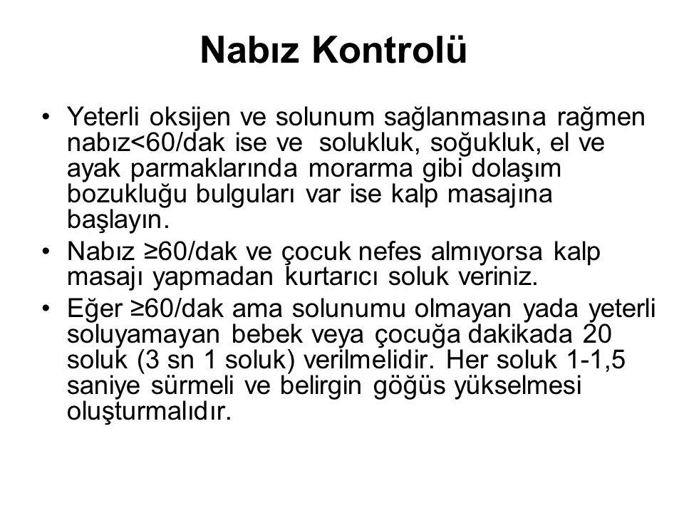 Nabız Kontrolü