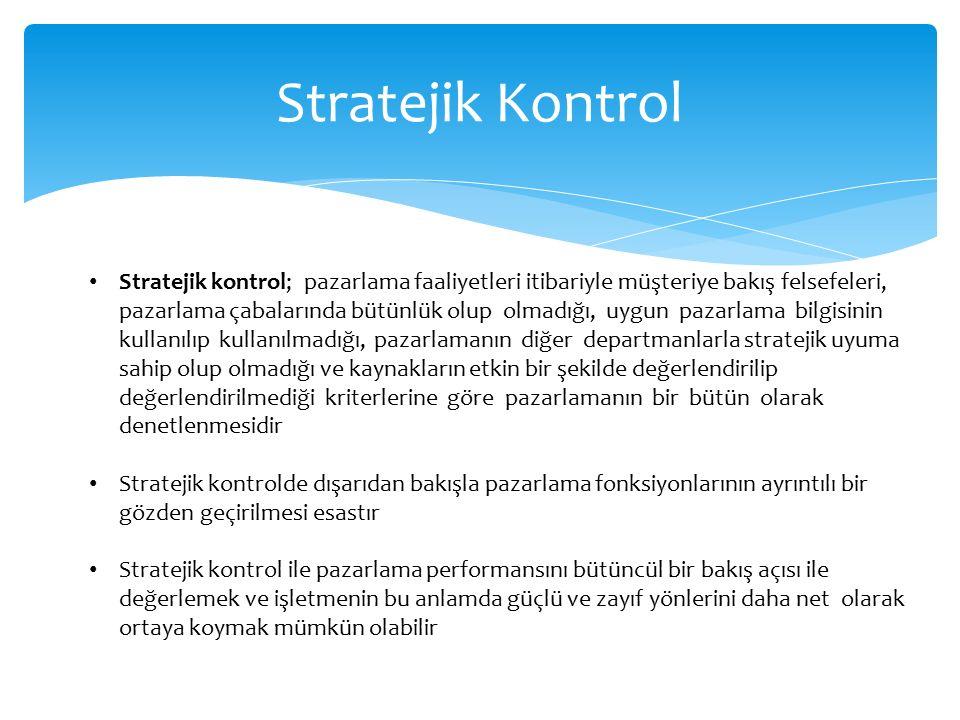 Stratejik Kontrol