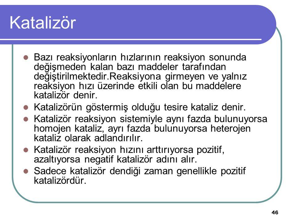Katalizör