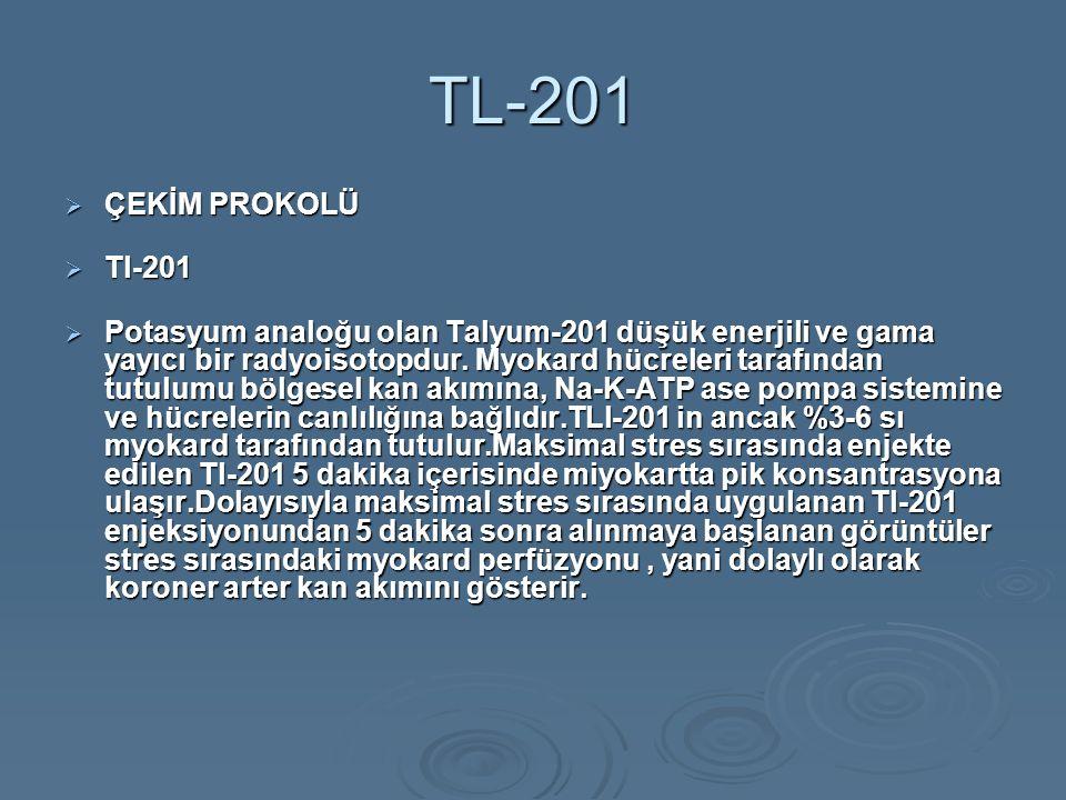 TL-201 ÇEKİM PROKOLÜ. Tl-201.