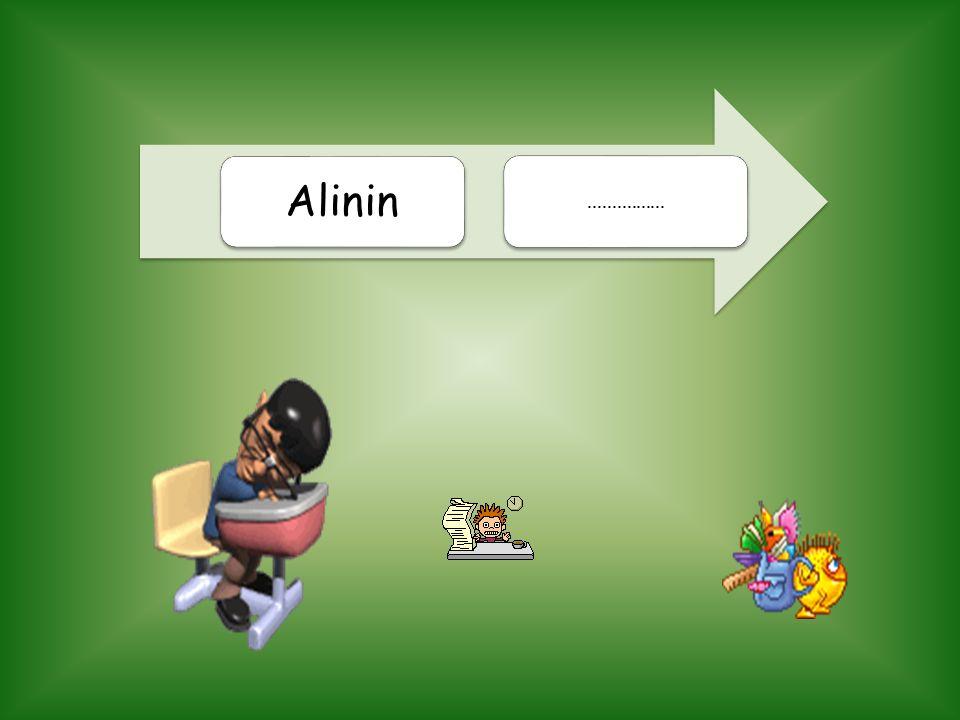 Alinin ................