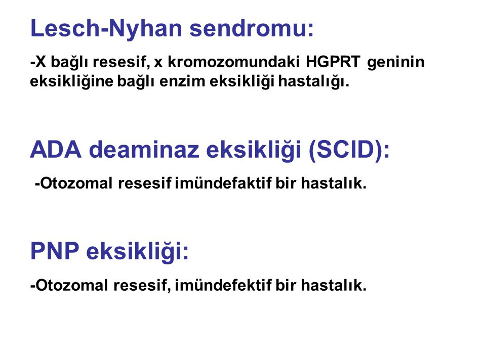 Lesch-Nyhan sendromu: