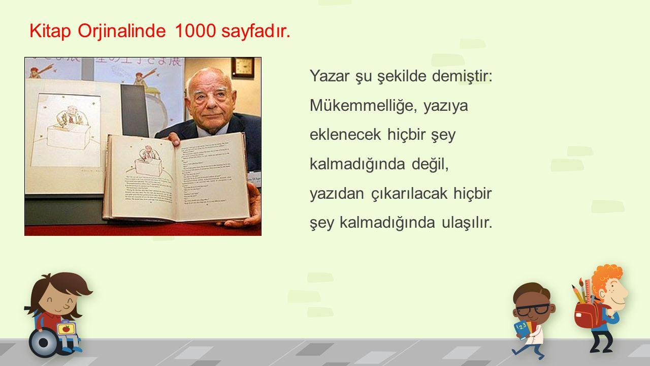 Kitap Orjinalinde 1000 sayfadır.