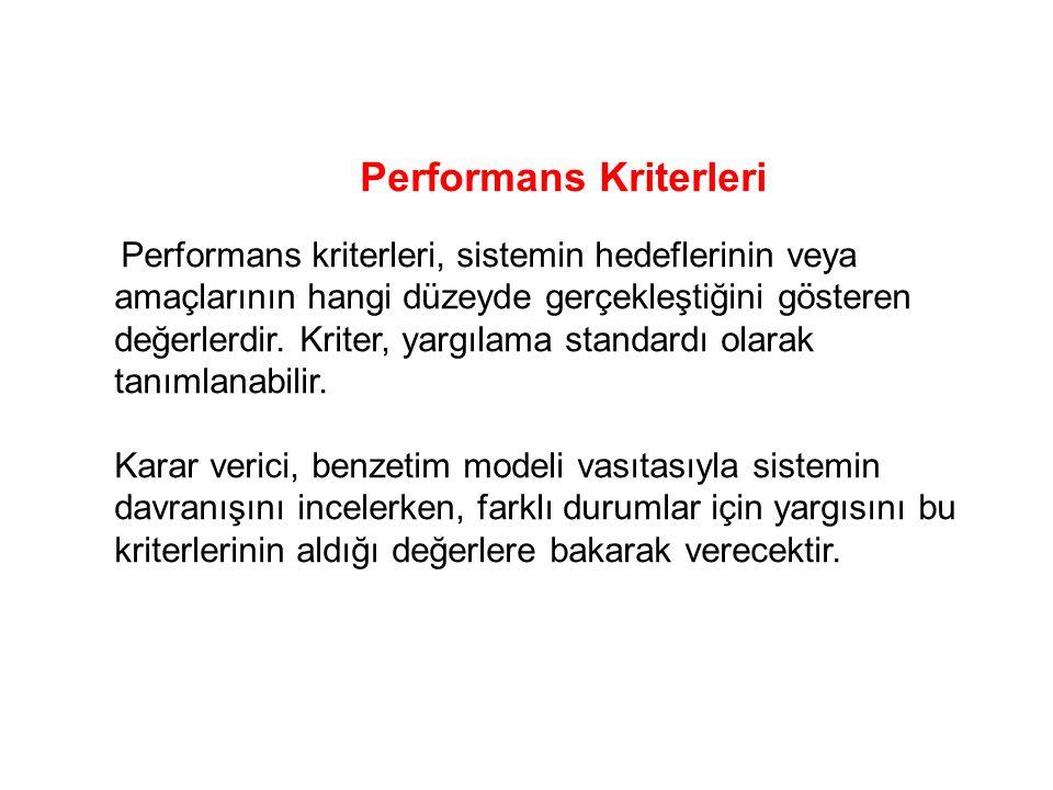 Performans Kriterleri