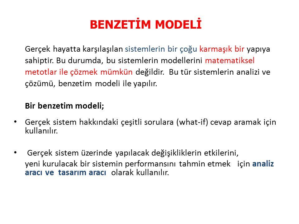 BENZETİM MODELİ