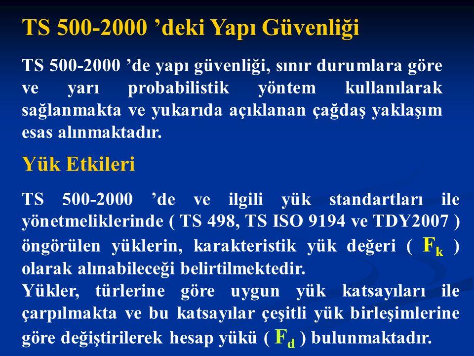 TS 500-2000 'deki Yapı Güvenliği