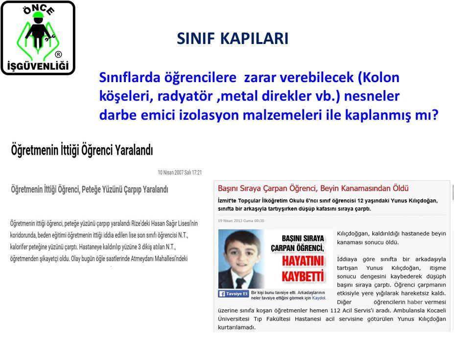 SINIF KAPILARI