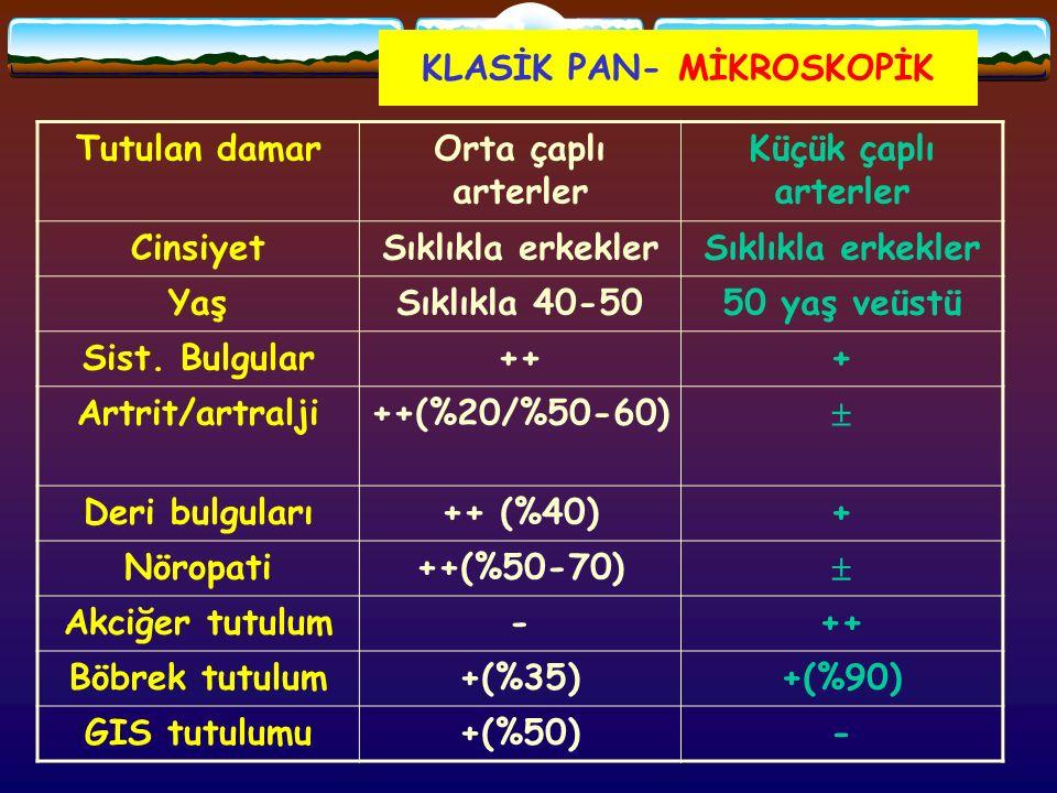 KLASİK PAN- MİKROSKOPİK