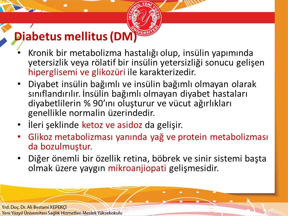 Diabetus mellitus (DM)