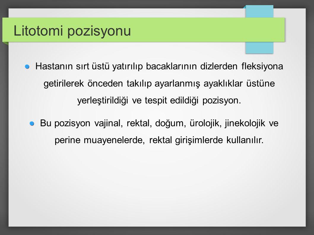 Litotomi pozisyonu