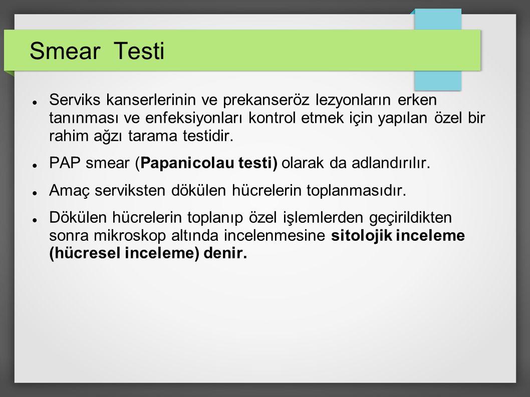 Smear Testi