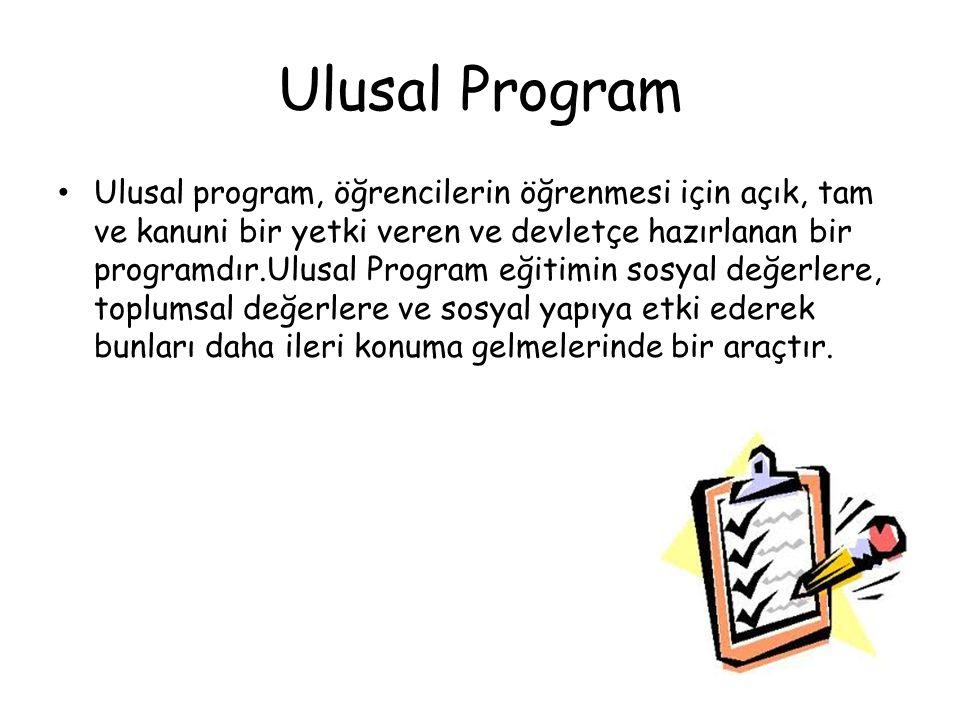 Ulusal Program
