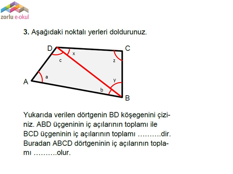 x c z a y b