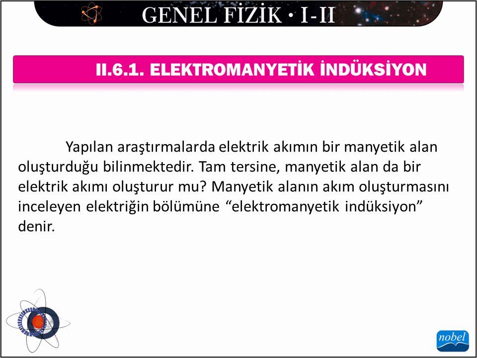 Yapılan araştırmalarda elektrik akımın bir manyetik alan oluşturduğu bilinmektedir.
