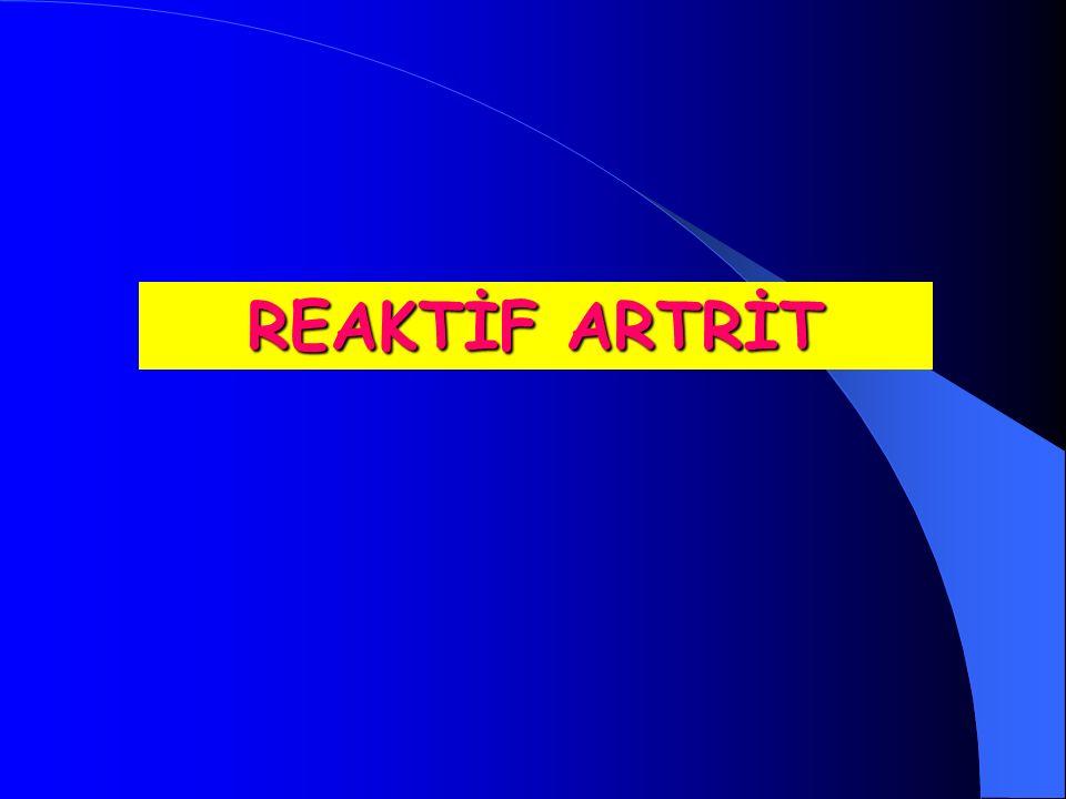 REAKTİF ARTRİT