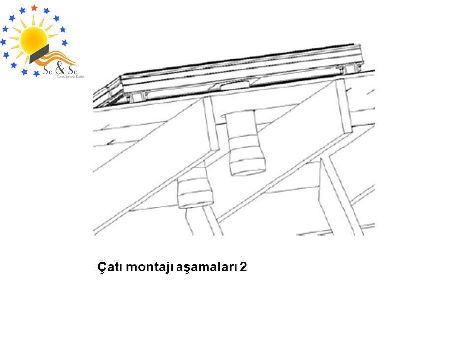 Çatı montajı aşamaları 2