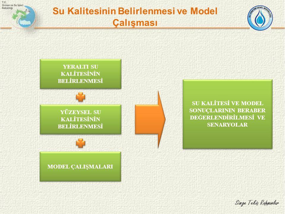 Su Kalitesinin Belirlenmesi ve Model Çalışması
