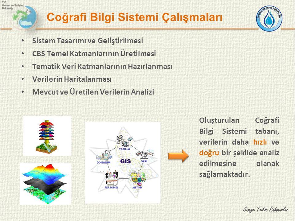 Coğrafi Bilgi Sistemi Çalışmaları