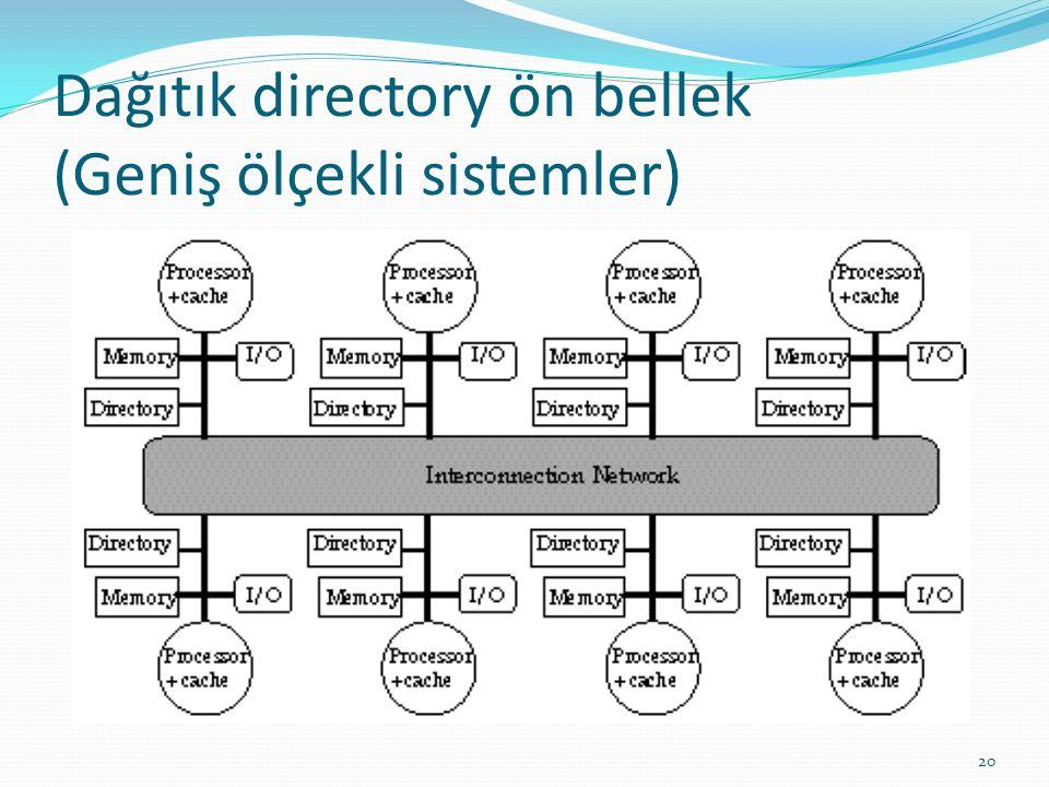Dağıtık directory ön bellek (Geniş ölçekli sistemler)