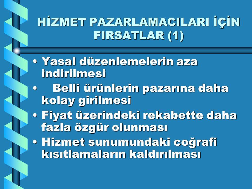 HİZMET PAZARLAMACILARI İÇİN FIRSATLAR (1)