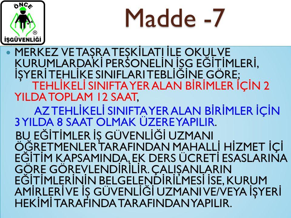 Madde -7