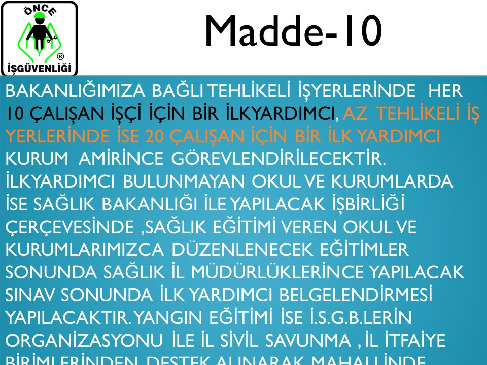 Madde-10