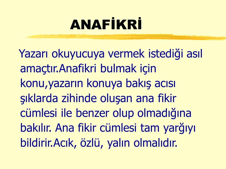 ANAFİKRİ