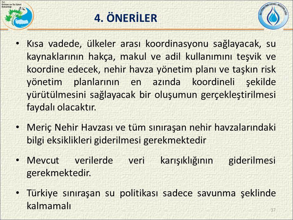4. ÖNERİLER