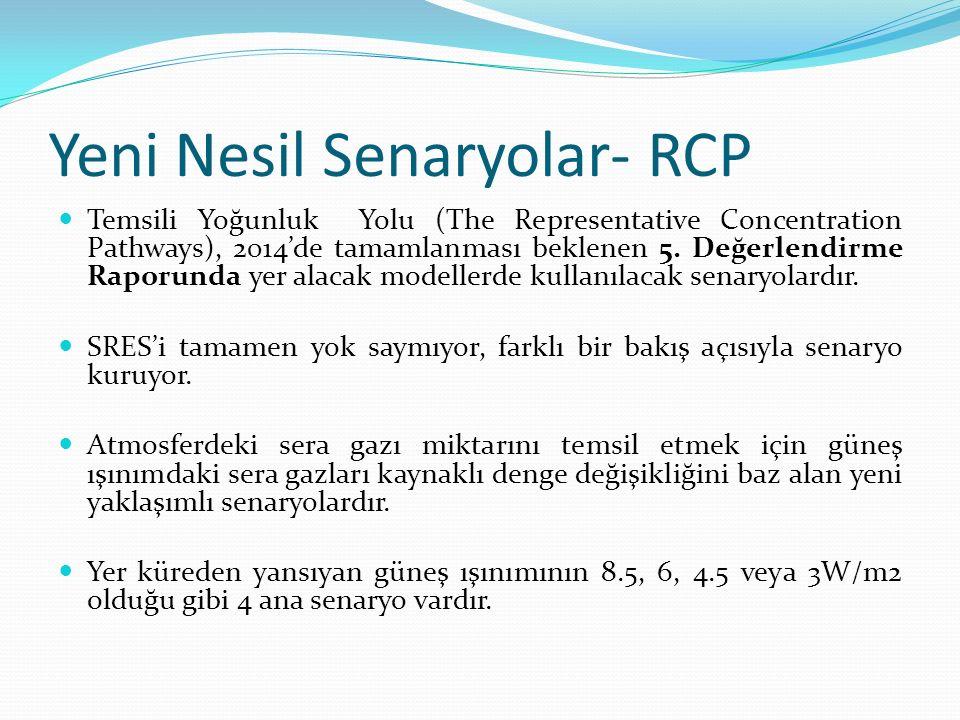 Yeni Nesil Senaryolar- RCP