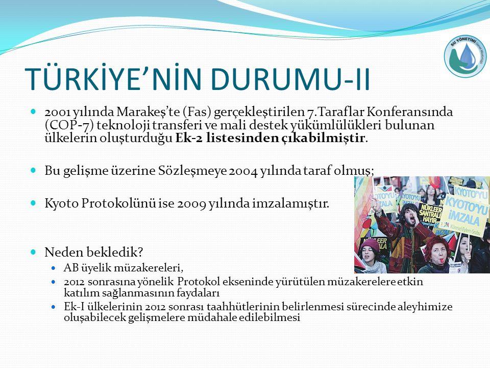TÜRKİYE'NİN DURUMU-II