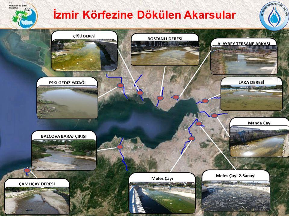 İzmir Körfezine Dökülen Akarsular
