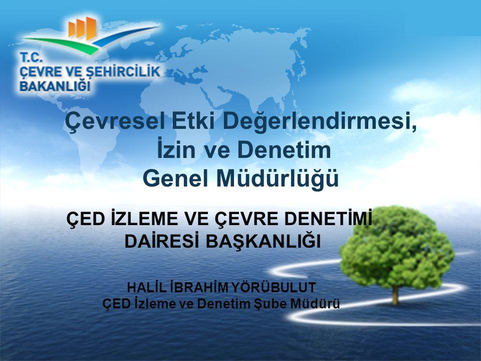 Çevresel Etki Değerlendirmesi, İzin ve Denetim Genel Müdürlüğü