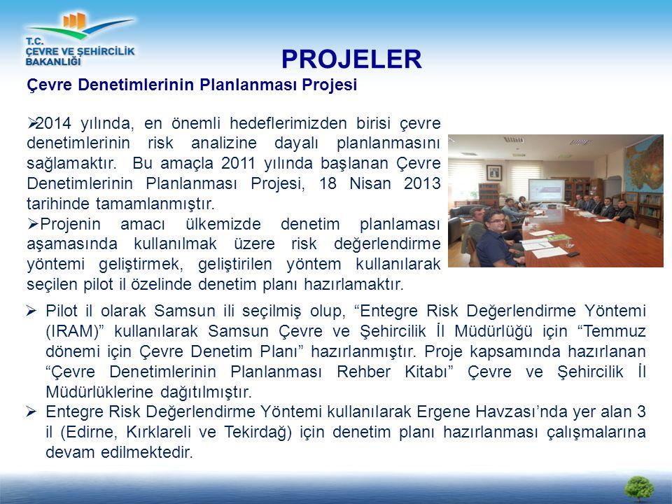 PROJELER Çevre Denetimlerinin Planlanması Projesi