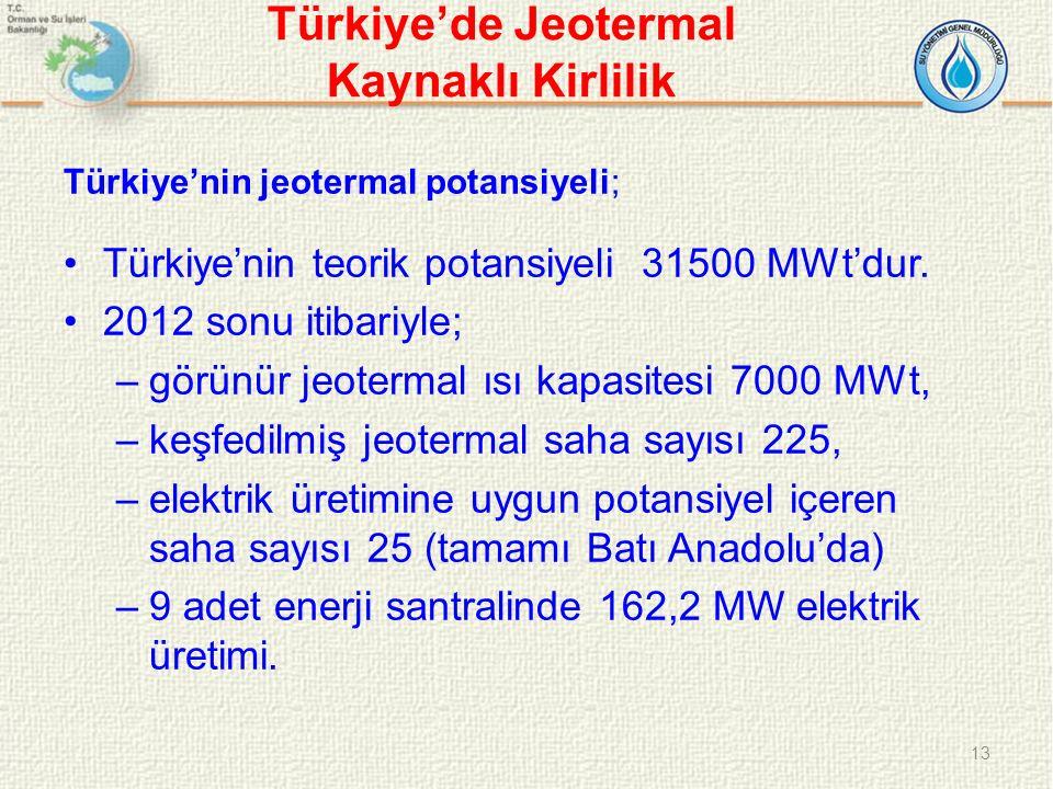 Türkiye'de Jeotermal Kaynaklı Kirlilik