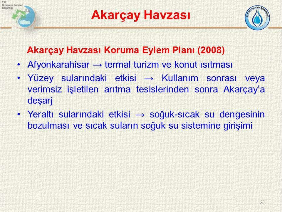 Akarçay Havzası Akarçay Havzası Koruma Eylem Planı (2008)